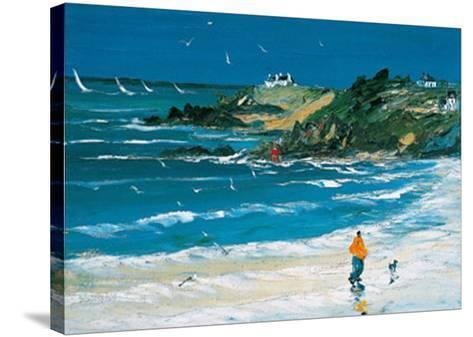 L'Homme et Son Chien-Christian Sanseau-Stretched Canvas Print