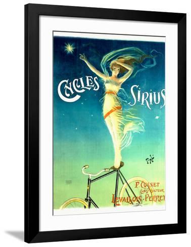 Cycles Sirius-PAL (Jean de Paleologue)-Framed Art Print