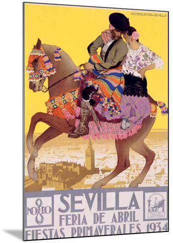 Sevilla-Hohenleiter-Mounted Giclee Print