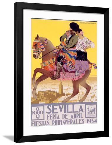 Sevilla-Hohenleiter-Framed Art Print