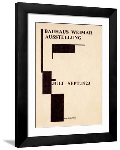 Bauhaus Gallery, c.1923--Framed Art Print
