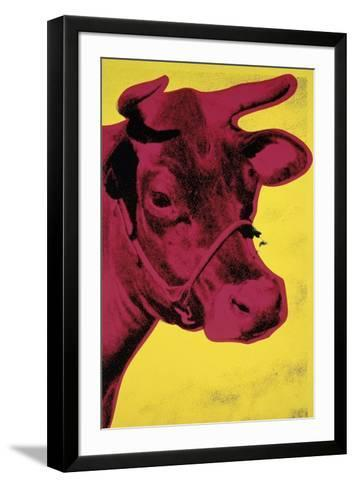 Cow, c.1966 (Yellow and Pink)-Andy Warhol-Framed Art Print
