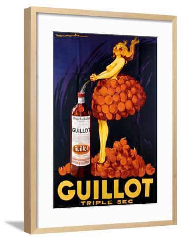 Guillot Triple Sec--Framed Art Print