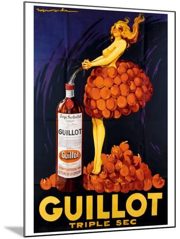 Guillot Triple Sec--Mounted Giclee Print