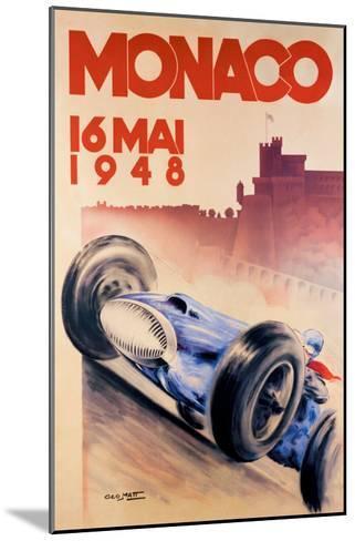 Grand Prix de Monaco, 1948-George Mattei-Mounted Giclee Print