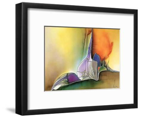 Farb & Formenspiel IV-Frauke Ahrens-Framed Art Print