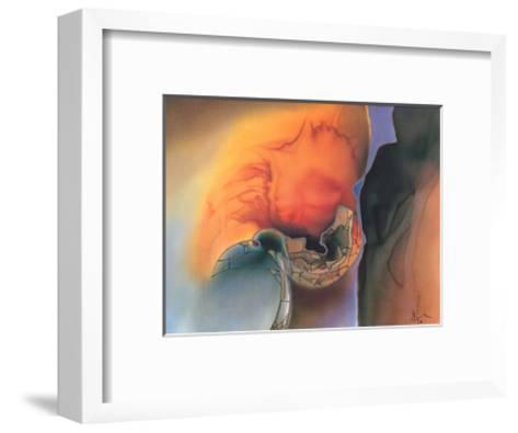 Farb & Formenspiel VI-Frauke Ahrens-Framed Art Print