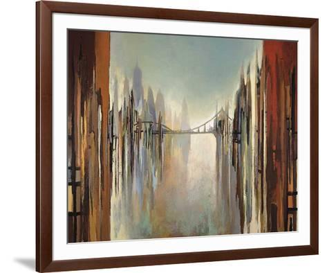 Bridges and Towers-Gregory Lang-Framed Art Print