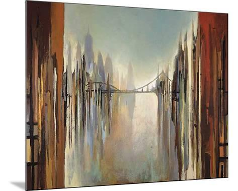 Bridges and Towers-Gregory Lang-Mounted Art Print