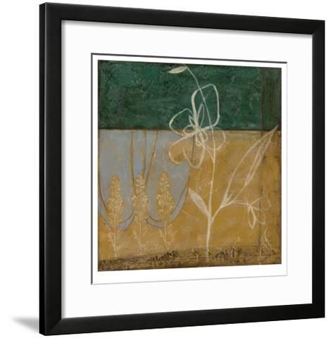 Pressed Wildflowers II-Jennifer Goldberger-Framed Art Print