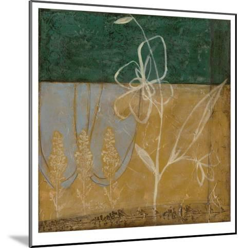 Pressed Wildflowers II-Jennifer Goldberger-Mounted Limited Edition