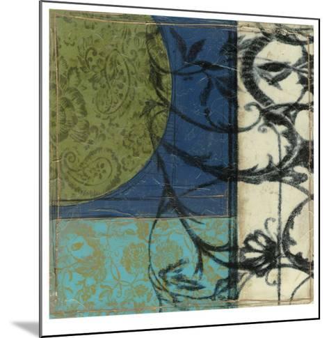 Gated Geometry I-Jennifer Goldberger-Mounted Limited Edition