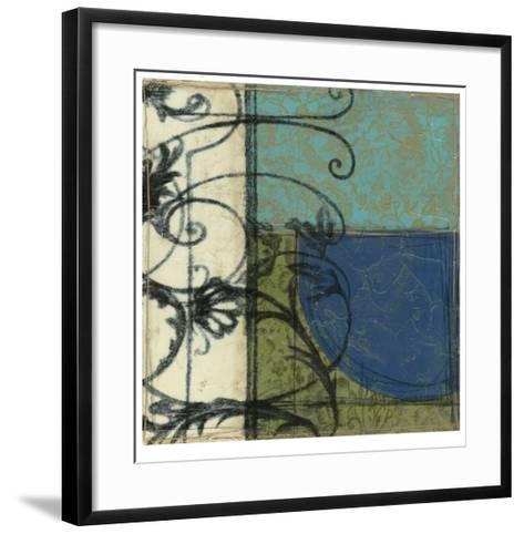 Gated Geometry II-Jennifer Goldberger-Framed Art Print