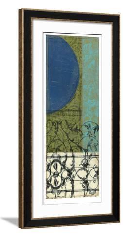 Gated Geometry III-Jennifer Goldberger-Framed Art Print
