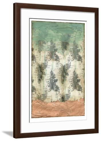 Antique Baroque I-Jennifer Goldberger-Framed Art Print