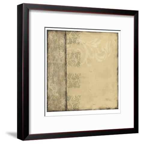 Ornamental Element I-Jennifer Goldberger-Framed Art Print
