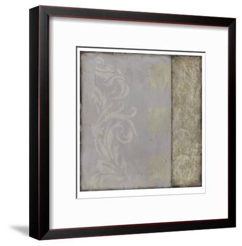 Ornamental Element III-Jennifer Goldberger-Framed Art Print