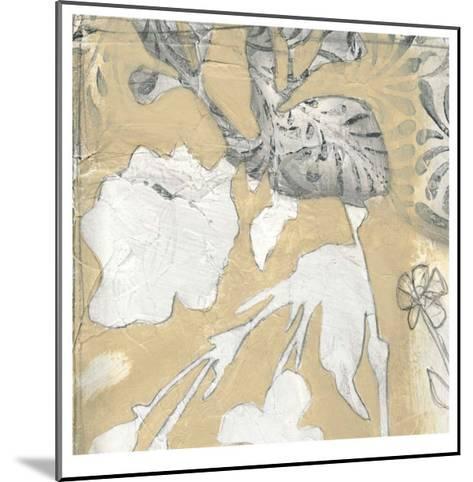 Neutral Garden Abstract I-Jennifer Goldberger-Mounted Limited Edition