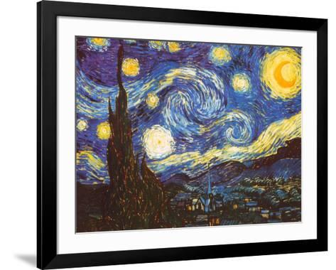 Starry Night, c.1889-Vincent van Gogh-Framed Art Print