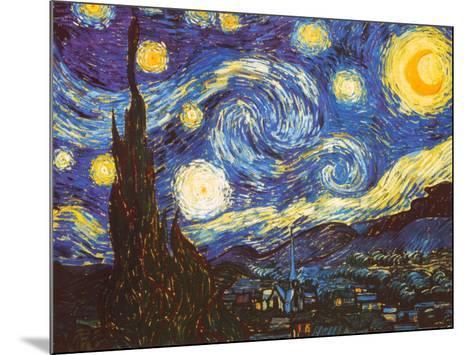 Starry Night, c.1889-Vincent van Gogh-Mounted Art Print