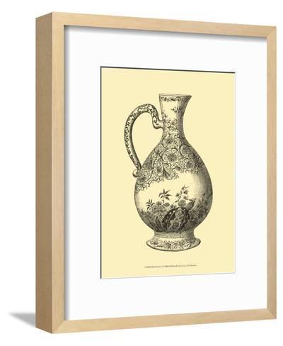 Delft Pottery I--Framed Art Print