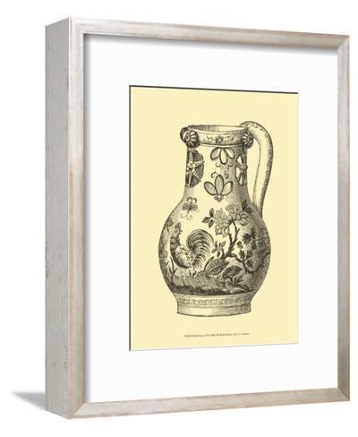 Delft Pottery II--Framed Art Print