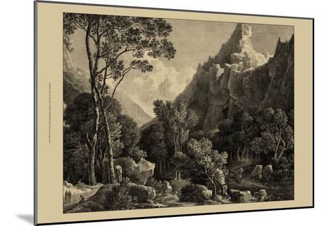 View of Wensley-George Cuitt-Mounted Art Print