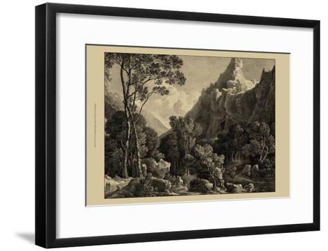 View of Wensley-George Cuitt-Framed Art Print