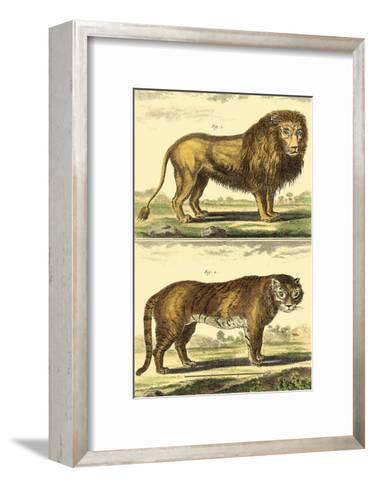 Lion and Tiger-Denis Diderot-Framed Art Print