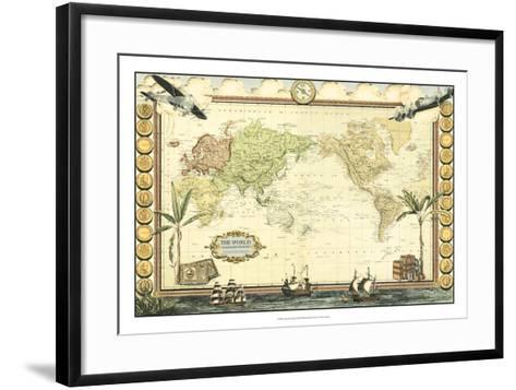 Adventure Map--Framed Art Print