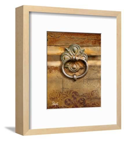 Handles on Gold II-Patty Q^-Framed Art Print