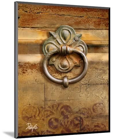 Handles on Gold II-Patty Q^-Mounted Art Print