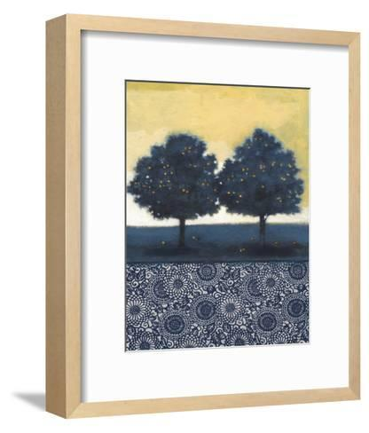 Blue Lemon Tree II-Norman Wyatt Jr^-Framed Art Print