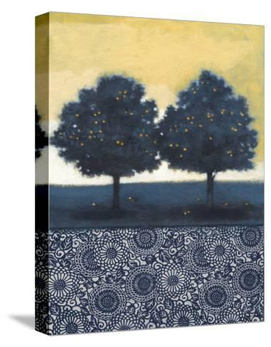 Blue Lemon Tree II-Norman Wyatt Jr^-Stretched Canvas Print