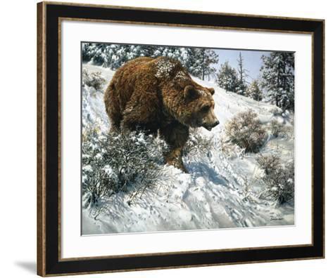 First Snow-John Seerey-Lester-Framed Art Print