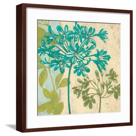 Modern Agapanthus-Stefania Ferri-Framed Art Print
