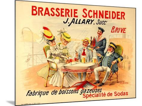 Brasserie Schneider- Quendray-Mounted Premium Edition