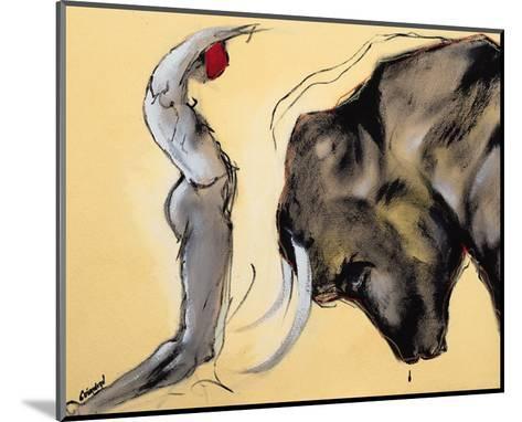 Corrida I-Pascal Guerineau-Mounted Art Print