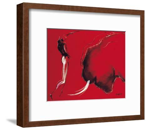 Corrida II-Pascal Guerineau-Framed Art Print
