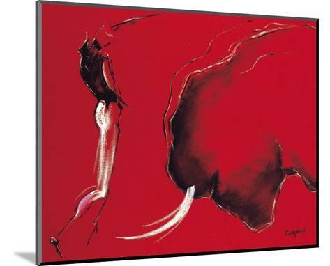 Corrida II-Pascal Guerineau-Mounted Art Print