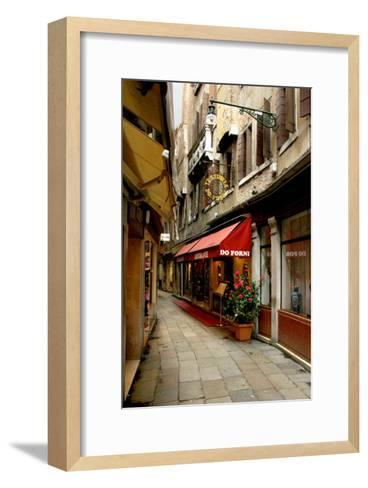 Trattoria Do Forni, Venice-Igor Maloratsky-Framed Art Print