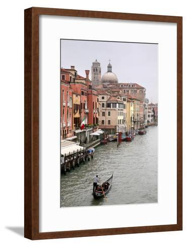 Gondola Ride, Grand Canal, Venice-Igor Maloratsky-Framed Art Print