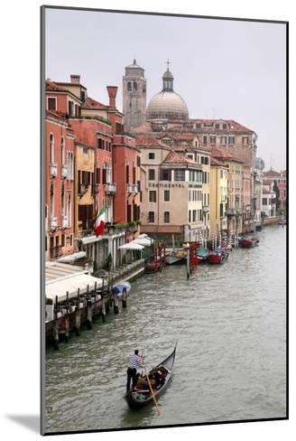Gondola Ride, Grand Canal, Venice-Igor Maloratsky-Mounted Art Print