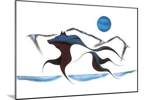 Wolf Spirit II-Isaac Bignell-Mounted Giclee Print