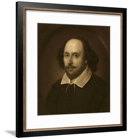 William Shakespeare-Vinton Clay-Framed Art Print