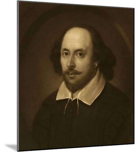 William Shakespeare-Vinton Clay-Mounted Art Print