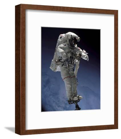 Space Shuttle Walk--Framed Art Print