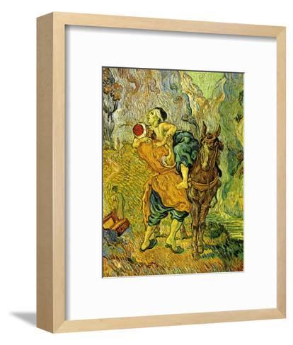The Good Samaritan-Vincent van Gogh-Framed Art Print