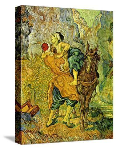 The Good Samaritan-Vincent van Gogh-Stretched Canvas Print