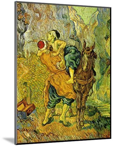 The Good Samaritan-Vincent van Gogh-Mounted Art Print
